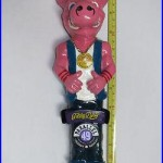 Parallel 49 Brewing Filthy Dirty IPA Pig Figurine Beer Bar Tap Handle NEW