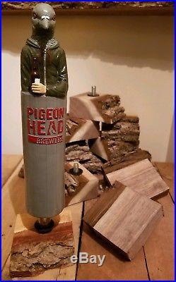 Pigeonhead Brewery Beer Tap Handle