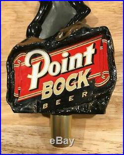 Point Bock Ram Beer Tap Handle Rare 10 inches- New never used