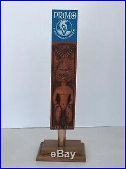 Primo 1972 Warrior Hawaiian Tiki Beer Tap Handle