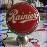 RAINIER Beer BALL TAP HANDLE KNOB SICKS' SEATTLE BREWERY INC