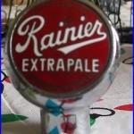 RAINIER Extra Pale Beer BALL TAP HANDLE KNOB SICKS' SEATTLE BREWERY INC