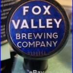 (rare) Fox Valley Beer Brewing Co Ball Tap Knob / Handle Menasha Wi (vintage)