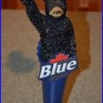 RARE Labatt Blue Figural Bear Beer DRAFT Tap Handle Keg Tap Pull Man Cave