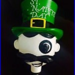 RARE National Bohemian Interchangeable Head Beer Tap Handle St. Patricks Day