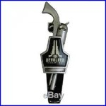 RARE REVOLVER BREWING BEER TAP HANDLE TEXAS BEER MAN CAVE SO COOL