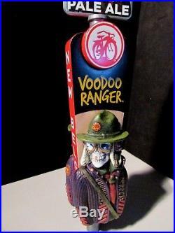 RARE VoodDoo Ranger Pale ale New Belgium Fat Tire Beer tap handle kegerator lot