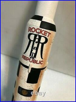 ROCKET REPUBLIC COFFEE CREAM ALE beer tap handle. ALABAMA