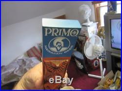 Rare! 1972 PRIMO HAWAIIAN BEER Carved TIKI WARRIOR Man TAP HANDLE Nr MINT Hawaii