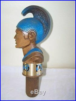 Rare! 1974 PRIMO BEER Warrior with Head Dress TAP HANDLE NICE SHAPE