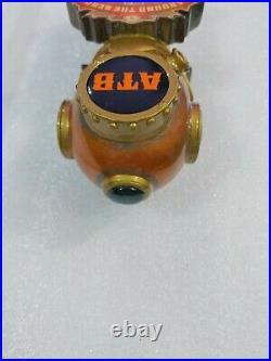 Rare ATB Deep Sea Diver Helmet Around The Bend Vera 12 Draft Beer Tap Handle