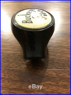Rare Antique Buckeye Beer Ball Tap Knob Buckeye Brewing Company Tap Handle