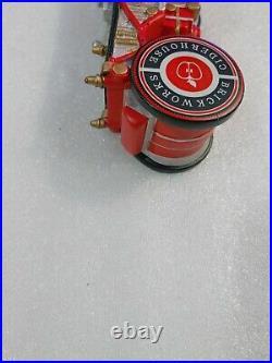 Rare Batch 1904 Brickworks Vintage Steam Fire Engine 10 Draft Beer Tap Handle