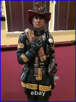 Rare Fire Fighter Beer Tap Handle