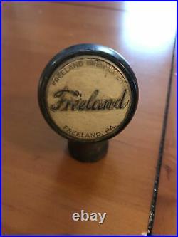 Rare Freeland Brewing Co Beer Tap Knob Handle Freeland Pa Hazleton Pa