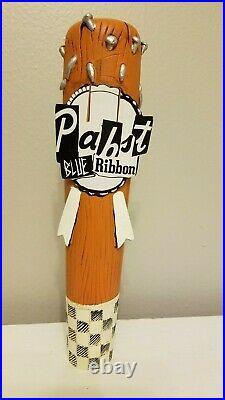 Rare PBR Pabst Blue Ribbon Club Nails Music Series 10 Draft Beer Tap Handle Bar