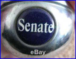 Rare Senate Beer Christian Heurich Brewing Ball Tap Knob Handle Washington DC