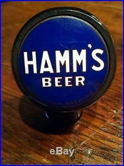 Rare Vintage 1930 1940 Hamm S Beer Tap Ball Knob Handle