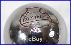 Rare Vintage Falstaff Beer Keg Ball Tap Handle Rat Rod Gear Shift Knob