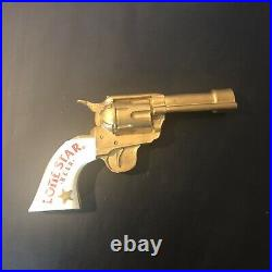 Rare Vintage Lone Star Pistol Beer Tap Handle 6 shooter handgun