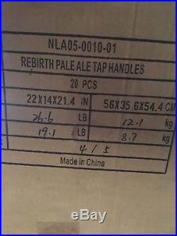 Rare, retired NOLA Rebirth beer tap handle lot (20 count)