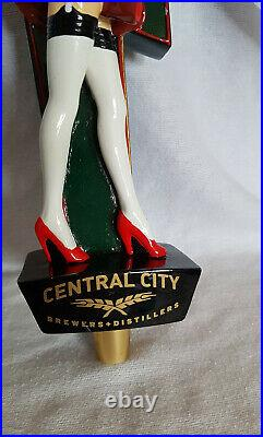 Red Racer Central City Brewery Distillery Beer Tap Handle Red Betty Used