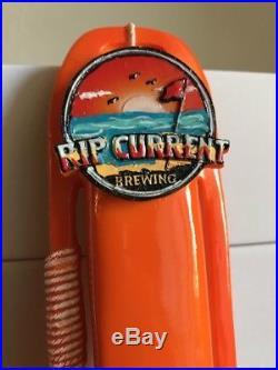 Rip Current Beer Tap Handle Nice Rare Hard To Find-NIB- San Diego, CA