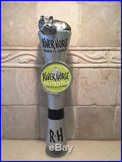 River Horse Brewing Beer Tap Handle Rare