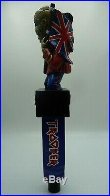 Robinsons Brewery Trooper Beer Pump Tap Handle Iron Maiden NEW RARE