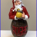 Rogue Ales Newport Oregon Santa Claus Beer Tap Handle Rare