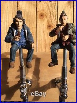 STRANGE BREW Beer Keg TAP HANDLES BOB and Doug McKenzie Canada Pair Set Movie