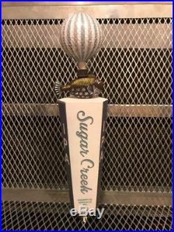 SUGAR CREEK BREWING Charlotte NC RARE HOT AIR BALLOON IPA Beer Tap Handle