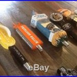 Super 60 Craft Beer Tap Handle Lot! Ballast Point, Stone, Mission Etc