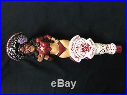 SUPER RARE Lolits'a CB Chocolate Stout beer tap handle VHTF! NEW