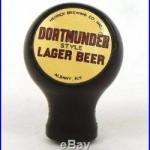Scarce 1930s Bakelite Hedrick Dortmunder Beer ball tap knob handle Albany NY