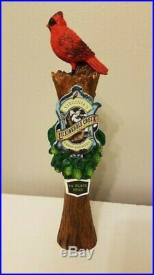 Scarce Virginia's Lickinghole Creek Black Bear 12 Draft Beer Keg Tap Handle