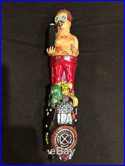 Scuba Steve IPA beer tap handle NEW b& COOL
