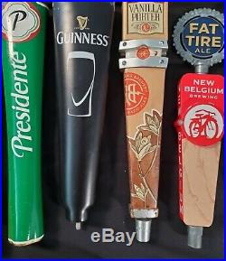 Set of 24 Bar Beer Tap Handles and Couplers