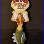 Shipyard Sexy Mermaid Wheat Ale Sea Shell Beauty 10 Draft Beer Keg Tap Handle