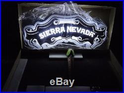 Sierra Nevada Beer Zeeon Light and Draft Tap Handle Breweriana