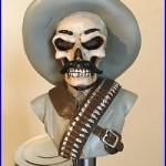 Skull Bandito Zapata figural beer tap handle for kegerators! Brand New! Skeleton