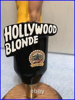 TGBC. HOLLYWOOD BLONDE bombshell beer tap handle. CALIFORNIA. Last One