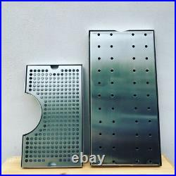 Tap Tower Single steel handle flow adjuster drip tray AEB corny keg connector