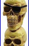 Three Skulls Ales Beer Tap Handle and Car Shifter Knob