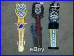 ULTIMATE NEWCASTLE BEER TAP HANDLE LOT -ALL BRAND NEW