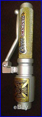 -ULTRA RARE- Coors Original Jesse James W. C. C. Beer Tap Handle