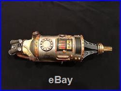 ULTRA RARE! Flying Mouse Brewery Steampunk beer tap handle NEW & AMAZING