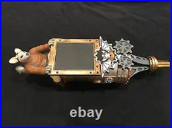 ULTRA RARE! Flying Mouse Brewery Steampunk beer tap handle NEW FMB is CLOSED