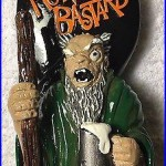 Ultra RARE New Beer Tap Handle Blue Point Old Howling Bastard