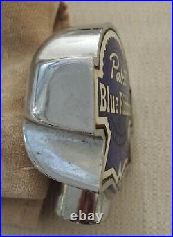 (VTG) 1930s pabst beer chrome ball tap handle Milwaukee Wi. See all Photos